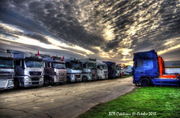Le Mans 2013 : parking extérieur