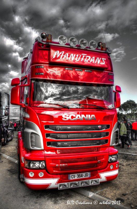 Le Mans 2013 : Scania Manutrans