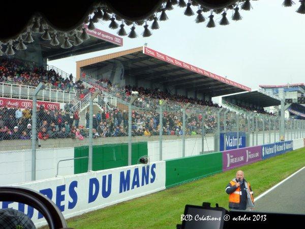 Le Mans 2013 : défilé, intérieur scène