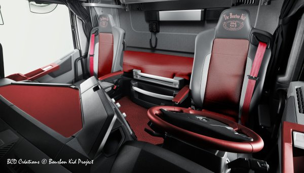 Renault t the bourbon kid project bcd photos et cr ations for Renault gamme t interieur
