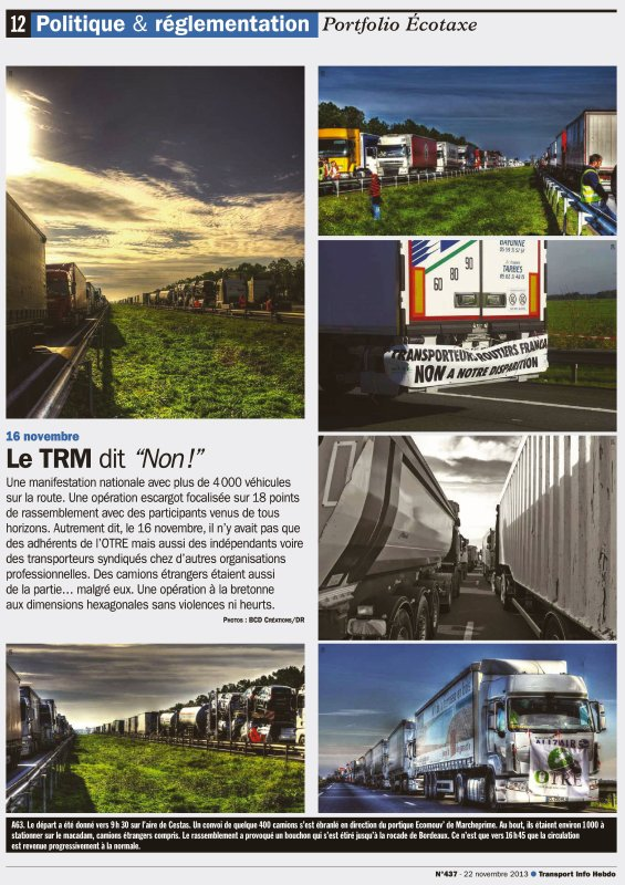 Transports Info Hebdo (suite)