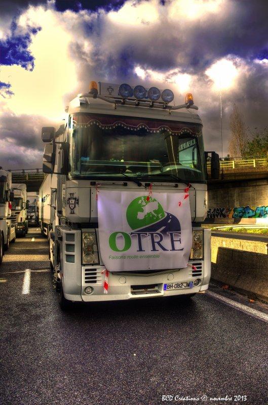 Opération Ecotaxe - 30 novembre 2013 - Bordeaux