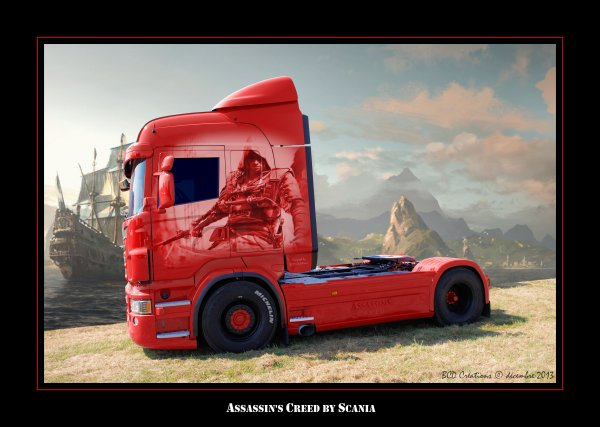 Scania Assassin's Creed