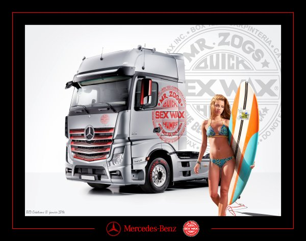 "Actros ""Sex Wax"""
