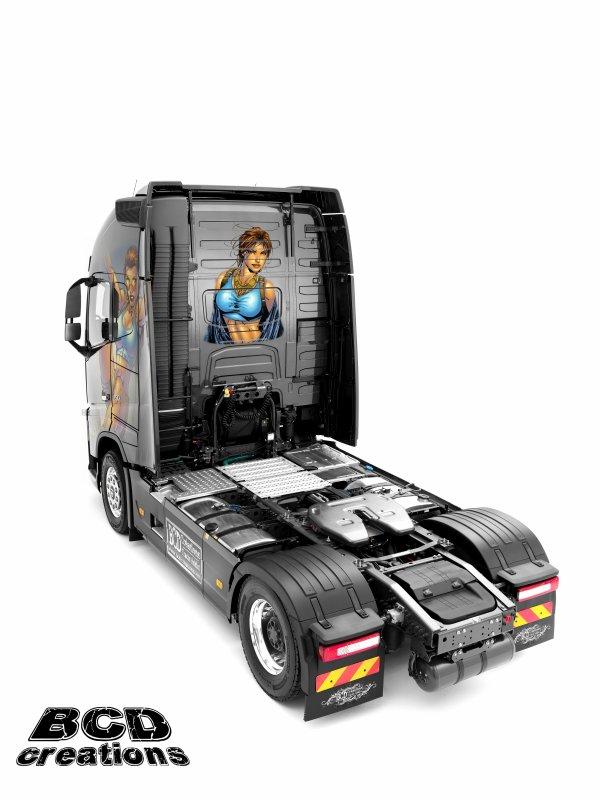 "Volvo FH750 ""Tomb Raider"""