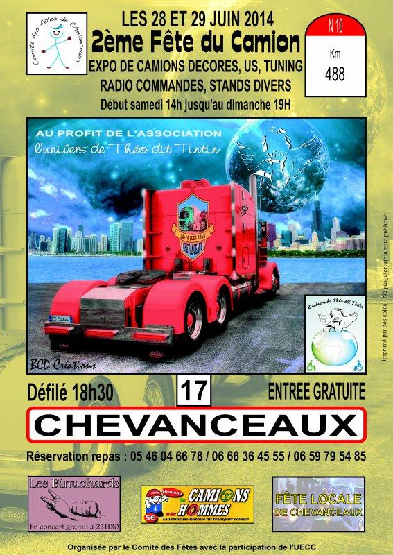 Chevanceaux, 28 et 29 juin 2014 !