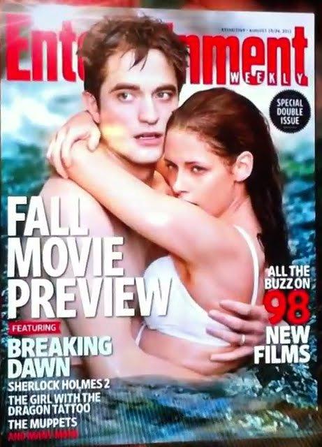 #Archive: Rob et Kris en couverture de EW en automne 2011