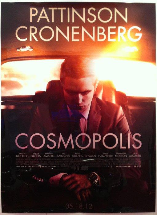 Nouvelle affiche pour Cosmopolis