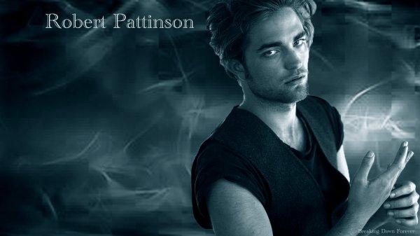 Wallpaper Robert Pattinson made by me ...