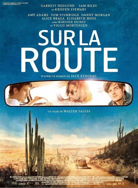 """Affiche On The Road """"Sur la Route"""""""