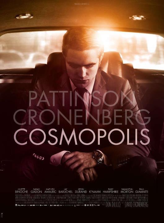 Affiche Officiel de Cosmopolis + Résumé