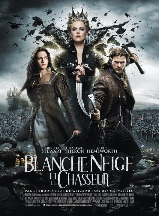 L'affiche Française de Blanche Neige et le chasseur Wow ..!!!