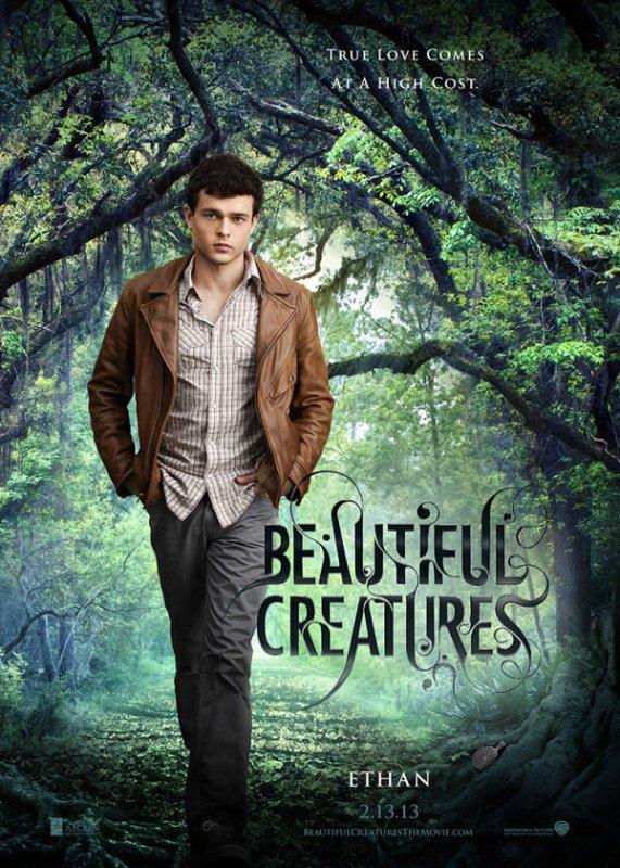 HS à Twilight: Sublimes créatures - 16 Lunes affiche personnage Ethan Wate