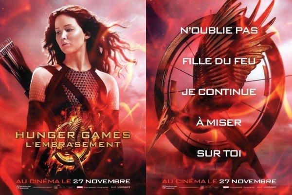 @pocket_jeunesse  #EDIT Ajout de l'affiche Québécoise #Hungergames2Movie affiche Française
