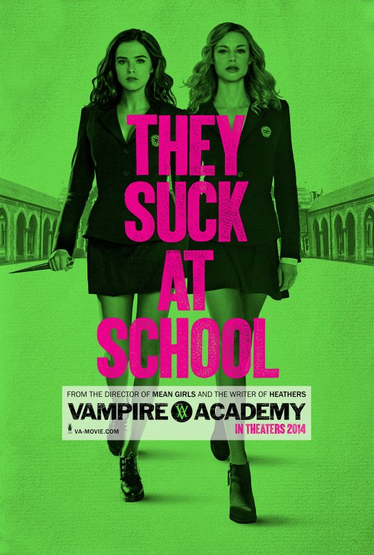 #VAMovie / #VampireAcademy , premier poster teaser