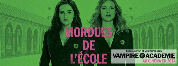 #VAMovie / #VampireAcademy , Bannière Québécoise
