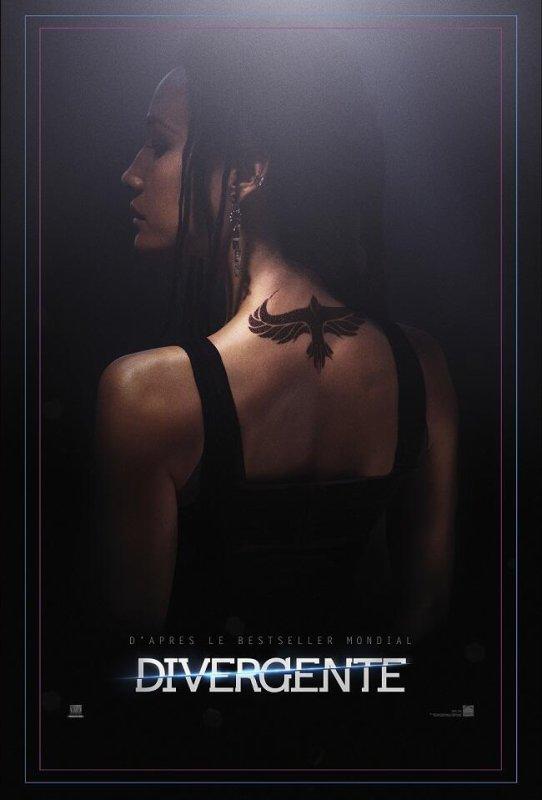 #Divergente le premier poster VF par @SNDfilms (Tori)