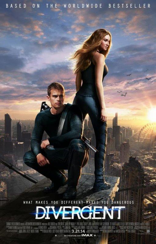#Divergente le premier poster officiel OMG !!!