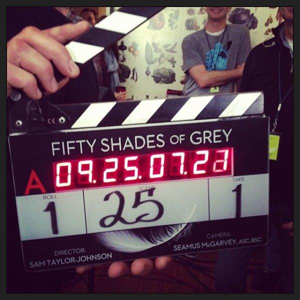 #FiftyShadesOfGrey le tournage commence