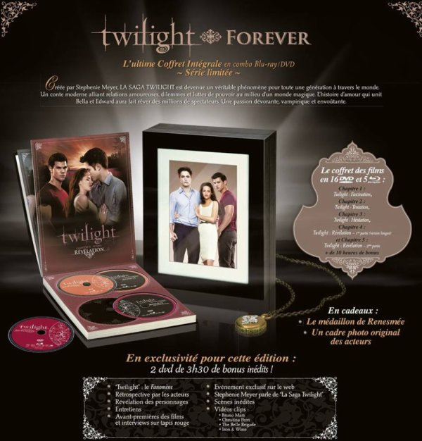 @SNDfilms @M6Video #RAPPEL l'édition Ultime de Twilight sort aujourd'hui !!