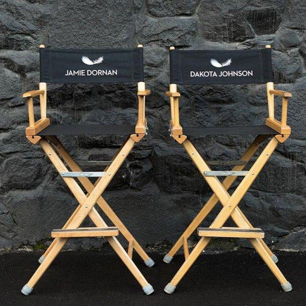 #FiftyShadesOfGrey les sièges de Jamie (Christian) & Dakota (Ana)
