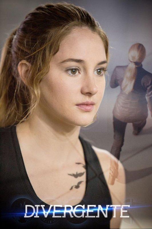 #Divergente une nouvelle photo de Tris