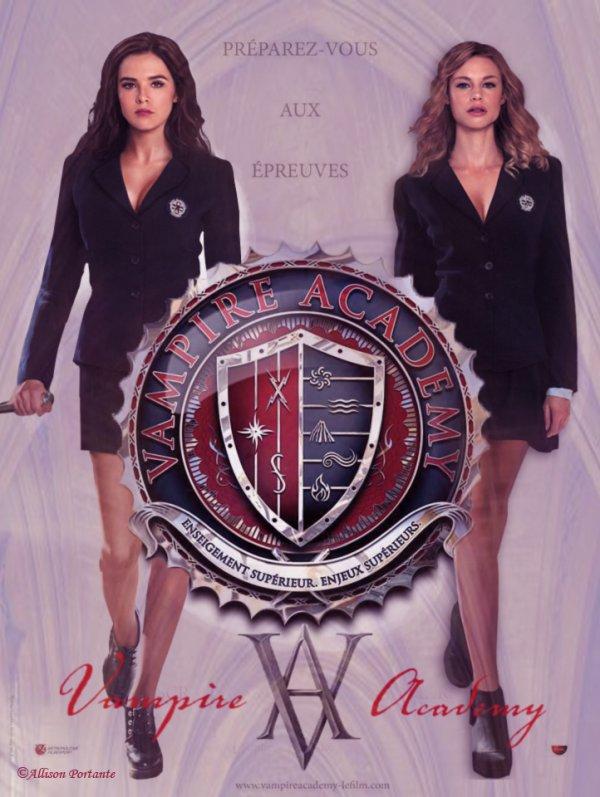 #VAMovie / #VampireAcademy poster made by me