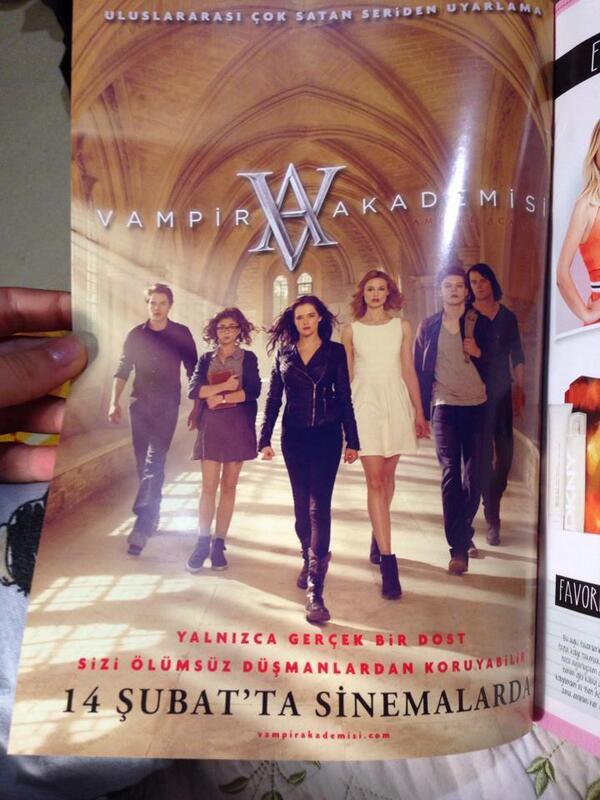 #VAMovie / #VampireAcademy , poster Turc