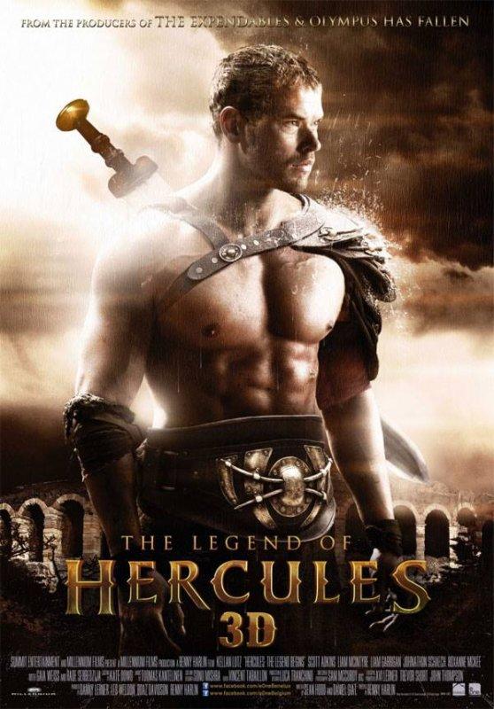 #KellanLutz le poster officiel du film La Légende d'Hercule OMG !!