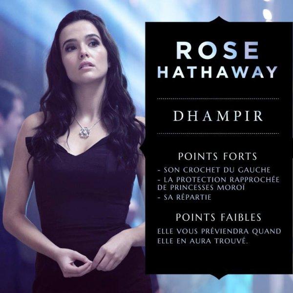 #VAMPIREACADEMY présentation de Rose