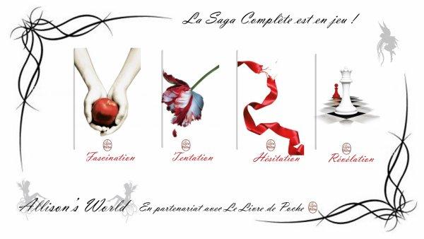 #Concours en partenariat avec @livredepoche la Saga Twilight est en jeu !