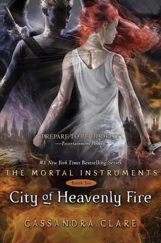"""The Mortal Instruments T6 """"City Of Heavenly Fire"""" la Cover enfin révélée !"""