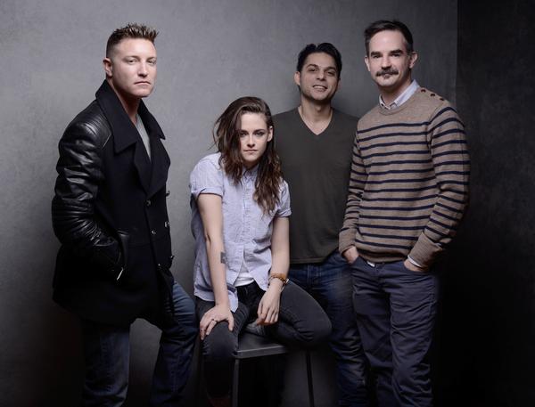 #NEWS Kristen Stewart shoot officiel avec le cast de Camp X-Ray au Sundance Festival hier
