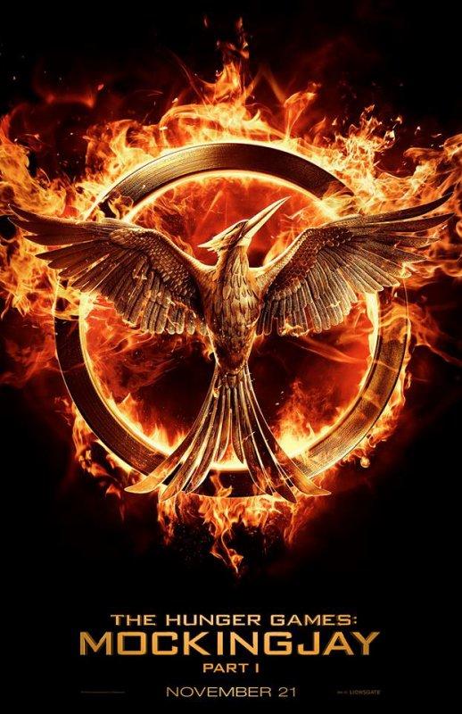 #HungerGames #Mockingjay #Part1 premier poster !