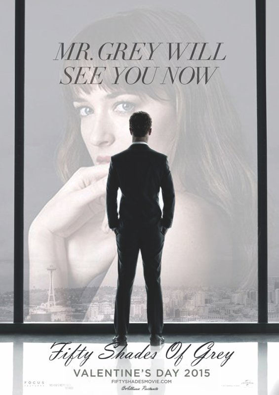 Fifty Shades Of Grey poster made by me