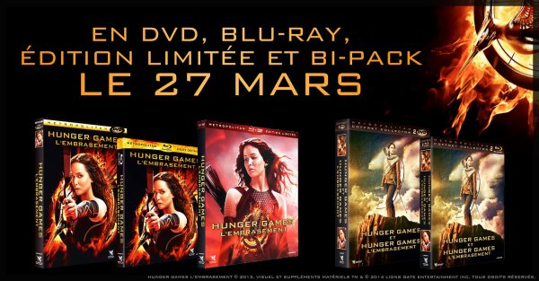 #SortieDVD #CatchingFire sort le 27 mars en France