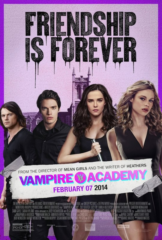 #VAMPIREACADEMY Poster US Final