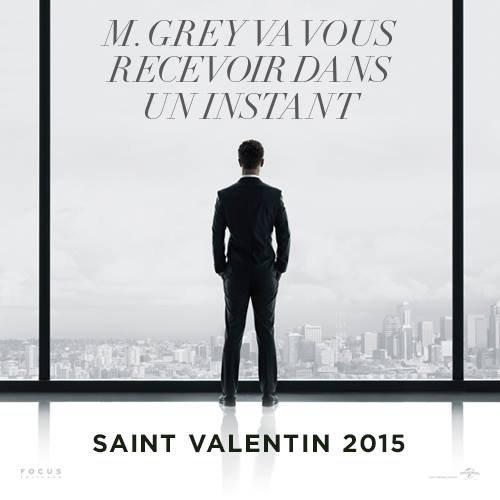 #FiftyShadesOfGrey poster teaser VF