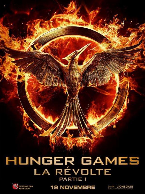 #HungerGames #Mockingjay #Part1 premier poster VF + nouvelle date de sortie