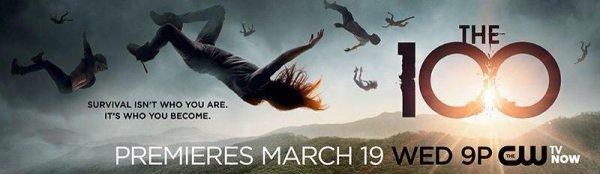 The 100 la série tirée du livre de Kass Morgan le 19 Mars sur la chaîne CW
