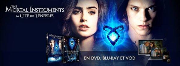 #RAPPEL The Mortal Instruments le 17 Février en DVD et BLU-RAY
