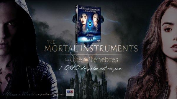 #Concours en partenariat avec @TF1VIDEO un DVD de The Mortal Instruments est à gagner !