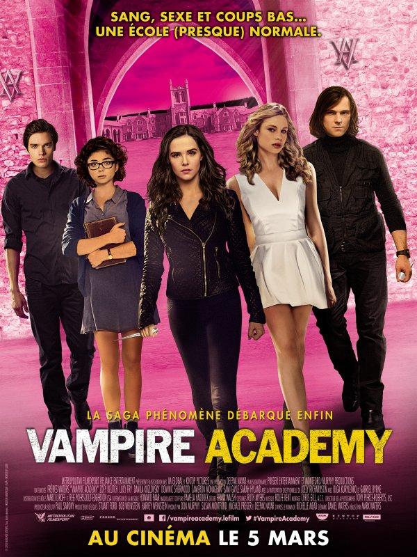 Préparez-vous, pour le prochain concours #VampireAcademy !