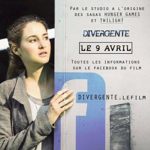 #Divergente n'hésitez pas à rejoindre la page FB officielle