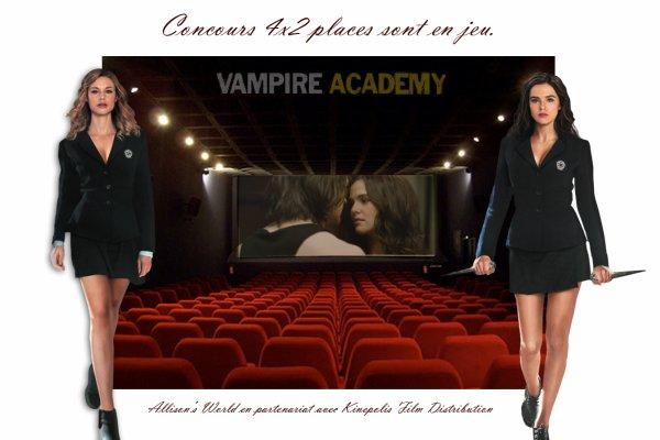 #Concours Vampire Academy en partenariat avec @KFD_BE (Belgique)