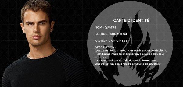 #Divergente présentation de Tris + présentation de Quatre et quelques photos