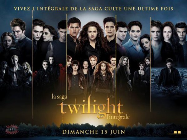 #Twilight - Ultime marathon Twilight le 15 juin 2014