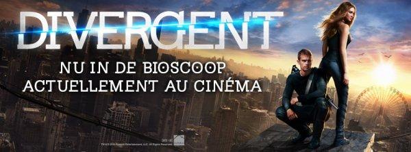 Pssstttt .... Juste pour vous dire que Divergent sort aujourd'hui en Belgique !