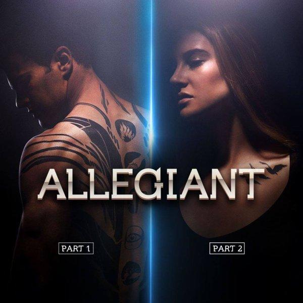 #Divergente Allegiant sera en deux parties ...