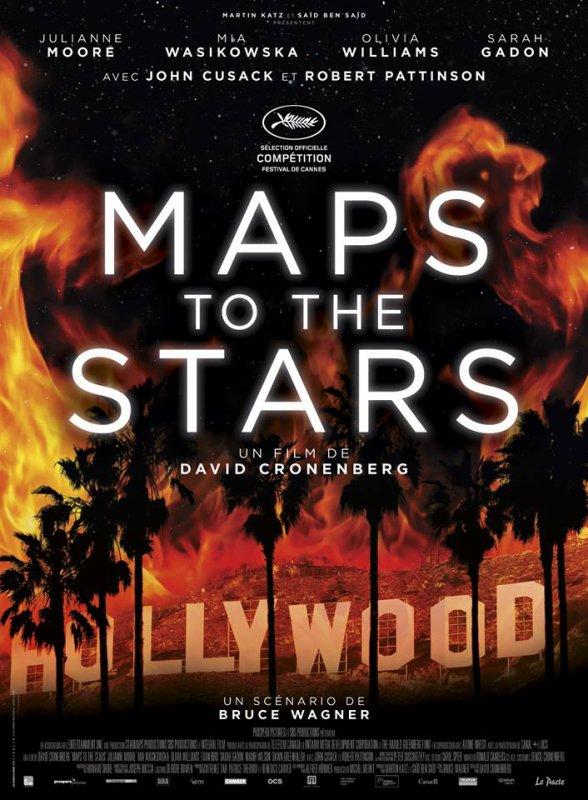 #MapsToTheStars affiche officielle Française (le 21 mai au cinéma)